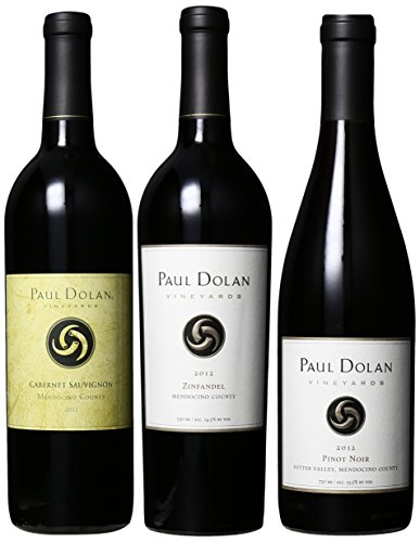 Paul Dolan Best Of Mendocino Organically Grown Reds (2Nd Edition), 3 X 750 Ml