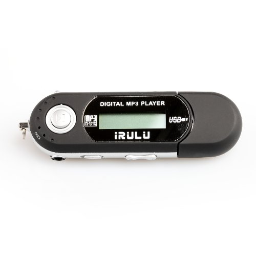 iRulu Brand 8GB USB MP3 WMA Music Player FM Radio Voice Recorder (Black)