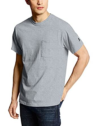 Russell Athletic Men's Athletic Pocket Tee, Oxford, Small