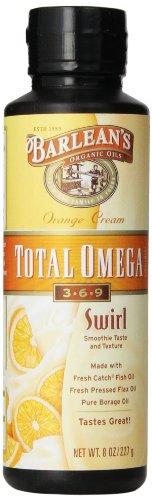 Barlean'S Orange Cream Total Omega Swirl, 8-Ounce front-215853
