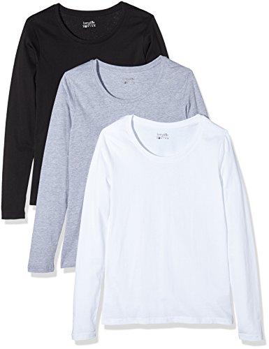 basic shirts damen langarm 2016. Black Bedroom Furniture Sets. Home Design Ideas