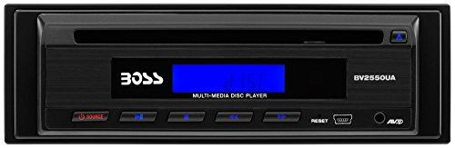 BOSS Audio BV2550UA In-Dash Mini DVD/CD/USB/MP4/MP3 Player with Remote