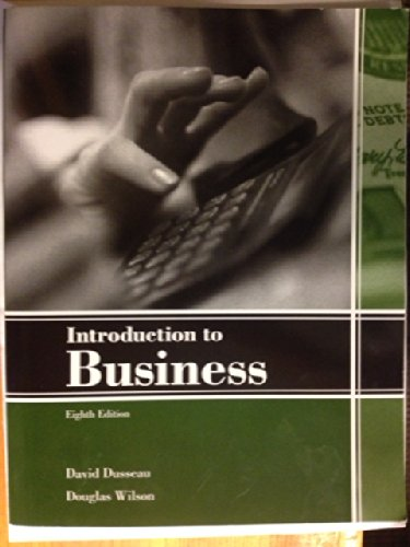 Introduction to Business, 8th Ed.