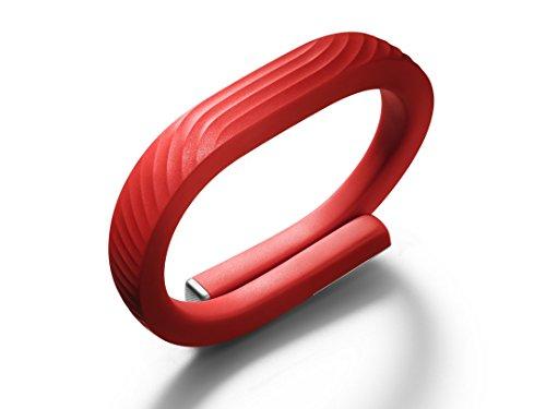 【日本正規代理店品】Jawbone UP24 ワイヤレス活動量計バンド《睡眠+運動+食事測定》 Sサイズ レッド 海外パッケージ版 JL01-02S-US