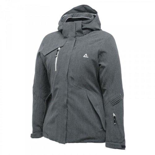 dare2b Damen Ski Jacke, Skijacke Signify Jacket smokey grey grau, Größe:36