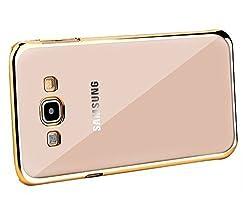 Samsung S3 Premium Quality Transparent Back Cover(Gold) By Vinnx