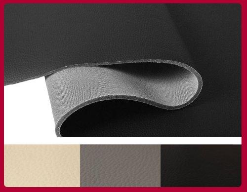 ska simili cuir nocturn noir tissu pour sellerie auto t131 10. Black Bedroom Furniture Sets. Home Design Ideas