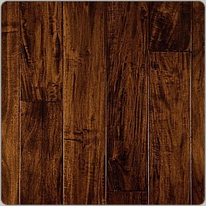 "Exotic Flooring African Black Walnut Floors Acacia 9/16"" Floor"