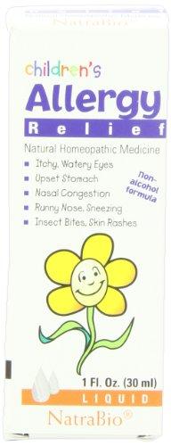 Soulagement des allergies de Natrabio enfants, 1