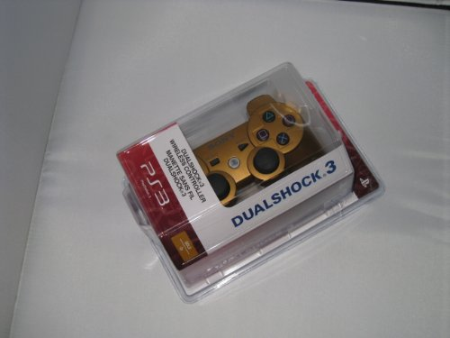 Playstation 3 Ps3 Dualshock 3 Wireless Controller- Golden Color