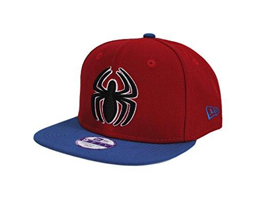 New Era 9Fifty Kids Cap Spider-Man Hero Quarter Sub Red/Royal Blue Snapback Hat