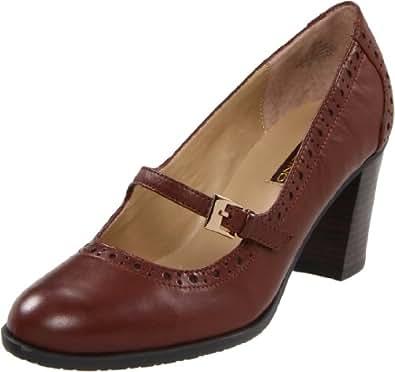 Amazon.com: Bandolino Women's Altered Mary Jane Pump,Brown ...
