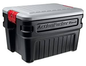 Amazon.com - Rubbermaid 1172 ActionPacker Storage Box, 24 Gallon