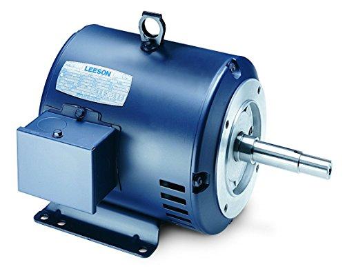 5 Hp 3450 Rpm 182Jm Frame Odp 208-230/460 Volts Leeson Electric Motor # G131574