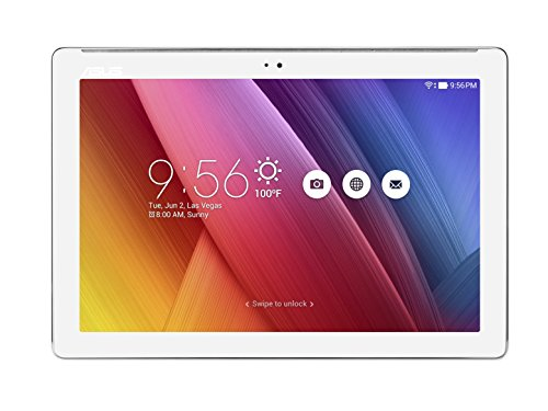 "Asus ZenPad Z300M-6B050A Tablet da 10"" HD, Processore Quad Core 1,3 GHz, HDD da 16 GB, RAM 2 GB, Bianco Perla"