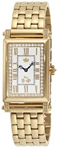 Juicy Couture Women's 1900695 Regal Gold Plated Bracelet Watch