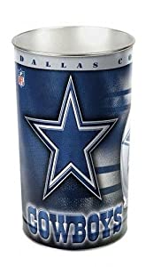 Cowboys WinCraft NFL Wastebasket by WinCraft