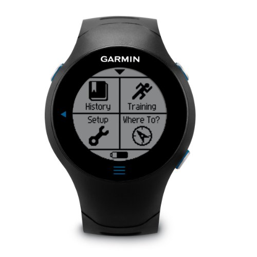 Garmin Forerunner 610 Touchscreen GPS Watch With Heart Rate Monitor Running Gps