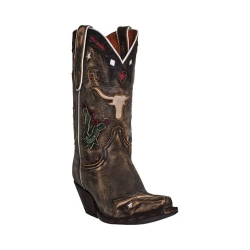 Dan Post Womens 11 Cowboy Dreams Fashion Boot