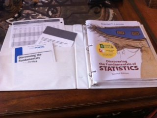 Discovering the Fundamentals of Statistics (Loose Leaf) & EESEE/Crunch It Access Card