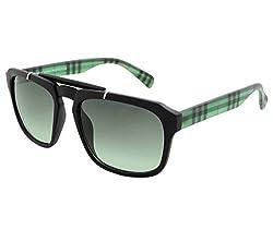 Laurels UV Protected Wayfarer Unisex Sunglasses -(ICO-0113|Green Lens)