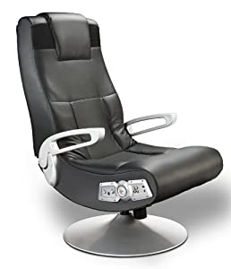 Pedestal video gaming chair wireless black sports amp outdoors