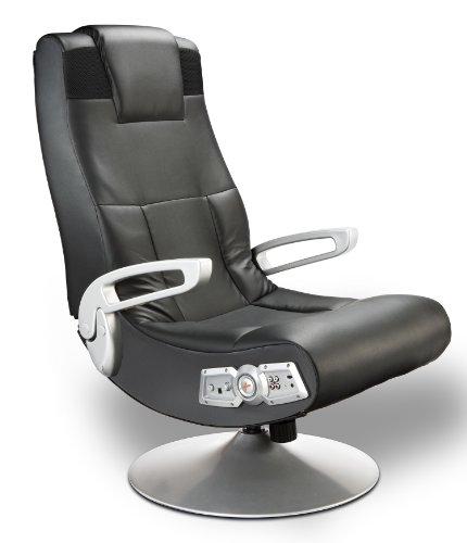 X Rocker 5127401 Pedestal Video Gaming Chair, Wireless , Black
