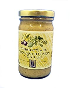 Mustard with Preserved Lemon & Garlic
