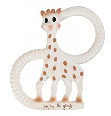 Vulli Products - Sophie The Giraffe Teething Ring - Gift Boxed! - 100% Natural Rubber from Vulli