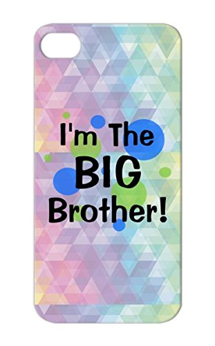 Navy Pregnancy Long Sleeved Siblings Sibling Maternity Gift Big New Brother Pregnancy Toddler Toddlers Kid Baby Middle Shower Its A Boy Brothers Humor Kids Imthebigbrother Greenbluecircles For Iphone 5/5S Protective Hard Case front-1054195