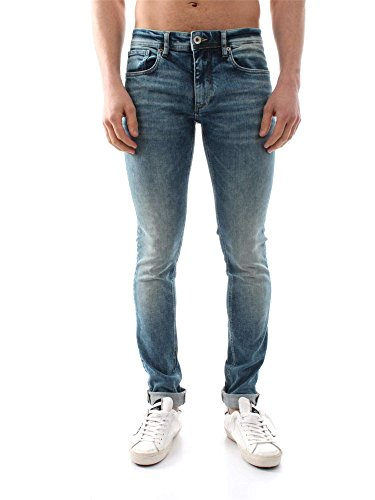 SELECTED 16048866 L.34 TWOMARIO LIGHT BLUE JEANS Uomo LIGHT BLUE 36