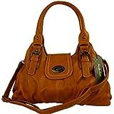 JENNIFER JONES 3959 moderne Damen Handtasche 40x20x14cm
