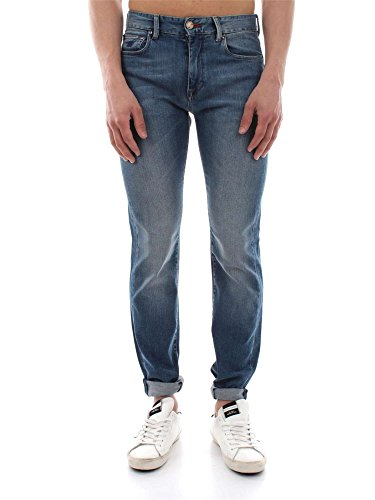 HENRY COTTON'S 12496 92 24637 DENIM JEANS Uomo DENIM 31