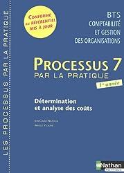 Processus 7 BTS CGO 1e année : Détermination et analyse des coûts