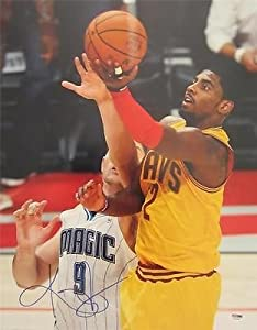 KYRIE IRVING SIGNED AUTHENTIC 16X20 PHOTO CLEVELAND CAVALIERS PSA DNA T93345 by KLF+Sports