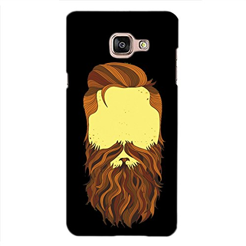 PrintVisa Designer Back Case Cover For Samsung Galaxy On Max (Brown Bearded Face)