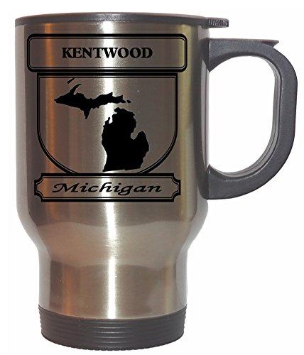 Kentwood, Michigan (MI) City Stainless Steel Mug (City Of Kentwood Michigan)