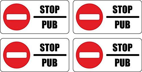 Set-4x-autocollant-sticker-boite-aux-a-lettre-pas-de-pub-stop-interdit-anti