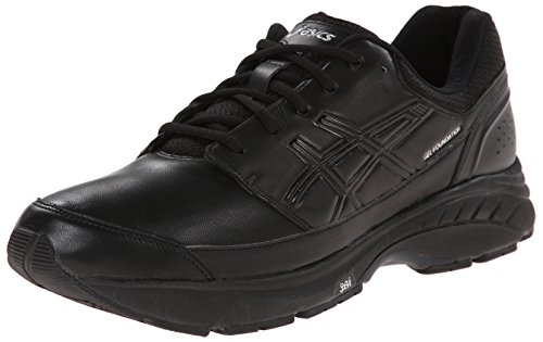 ASICS Men's Gel-Foundation Workplace Walking Shoe,Black/Onyx/Silver,13 M US (America Shoes Men compare prices)