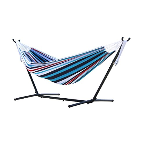 Vivere's Combo — Double Hammock with Stand (9ft)