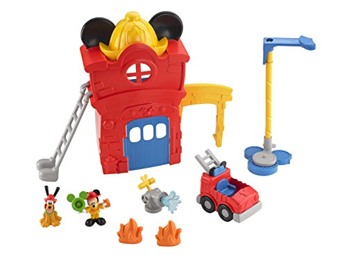 Fisher-Price Mickey's Funny Fire Station - 1
