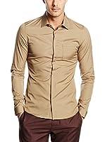 Belstaff Camisa Hombre Blackburn (Beige)