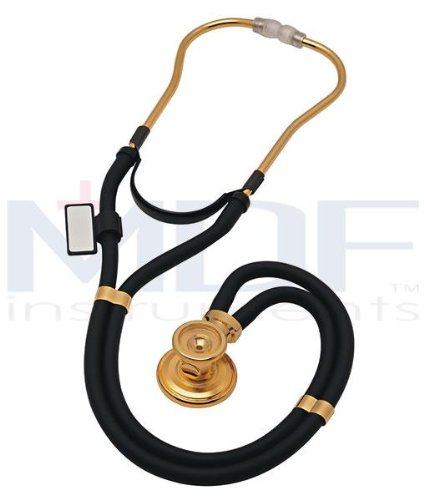 Cheap MDF 22k Gold Sprague Rappaport Stethoscope (DB4887294)