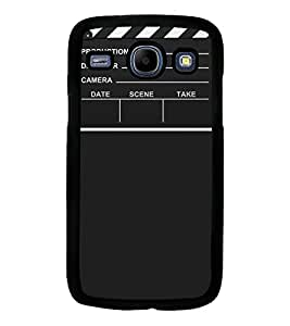 Fuson Premium Lights Camera Action Metal Printed with Hard Plastic Back Case Cover for Samsung Galaxy Core i8260 i8262