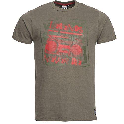 Vision Street Wear Herren LEGENDS Skateboarding Tee Shirt Grau Gr. S