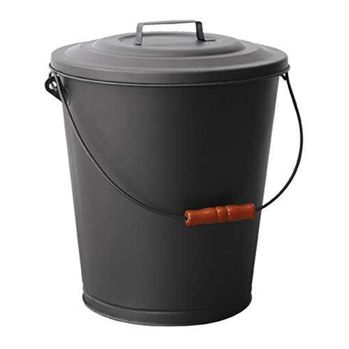 Uniflame Black Ash Bin with Lid image