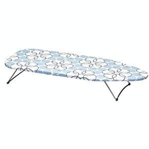 Household Essentials Tabletop Ironing Board with Magic Rings Cover