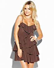bebe Washed Silk Cami Dress