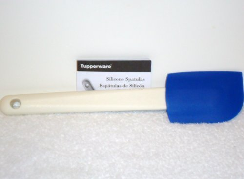 Tupperware Saucy Silicone Spatula Scraper ~ Blue (Tupperware Pots And Pans compare prices)