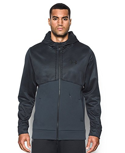 Under Armour Men's Storm Icon Full Zip Hoodie, Stealth Gray (008), XX-Large